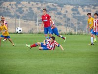 Practicando el futbol