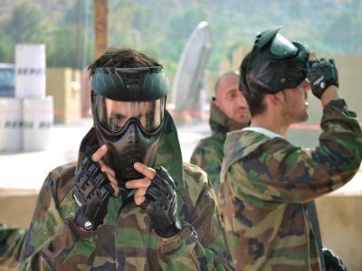 Paintball ad Alcudia con 200 palline e attrezzature
