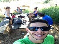 Grupo en Sierra Morena