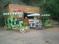 rental of quadricycles in coripe station