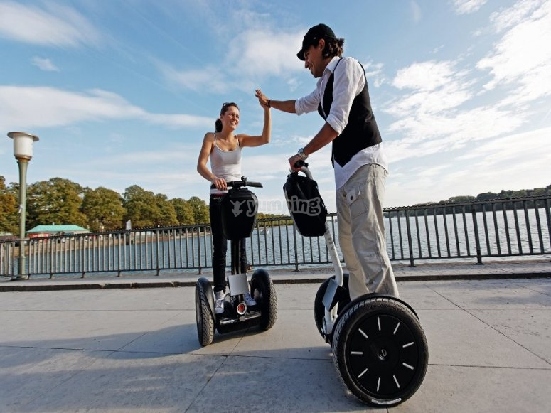 Excursiones en segway en Madrid