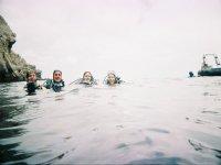 Escapadas submarinas los fines de semana