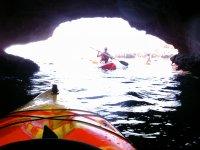 Partenza da una grotta