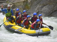 Rafting in Mallos