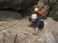 Escalada por la sierra de Huesca