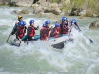 Actividades en aguas bravas