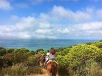 Paseo a caballo por Doñana