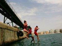 Saltare dal porto