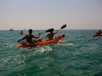 In kayak sul mare