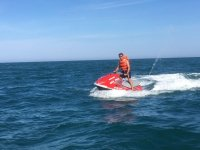 Jet ski in the coast of Cambrils