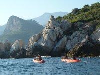 Excursión en kayak en Málaga