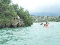 Alquiler de kayaks biplaza