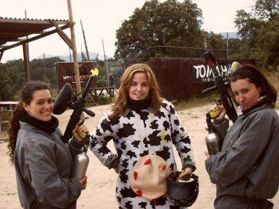 Disfrazada de vaca