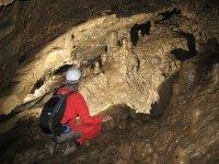 Una cueva subterranea