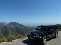 See the Sierra Almijara in 4x4