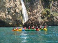 Kayaks en Malaga