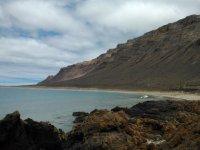 Playa de los Burros en Famara