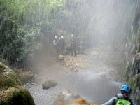 Under the waterfall of Otonel