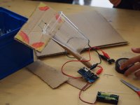 Workshops with electronic elements