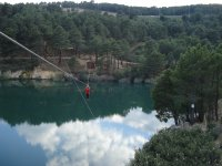 High-altitude zipline