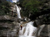 水Barranquismo面积下降沟壑