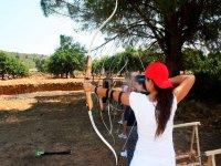 Practica de tiro con arco
