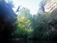 Salto en el barranco Gorgo