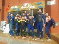 Preparata per lo snorkeling