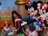 Visita de Mickey y Minnie
