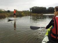 划桨冲浪和皮划艇