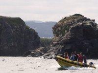 Saliendo de excursion en barca