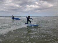Empezando a surfear