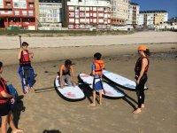 学习桨冲浪设备