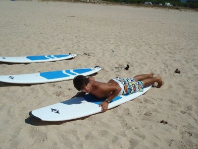 塔里法的个人冲浪课程。 2小时