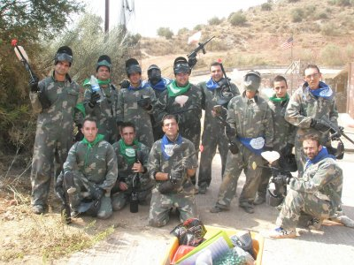 Paintball Mountain Team Building