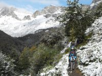 Excursion invernal caminando