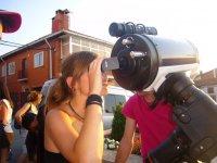 Attività con telescopi professionali