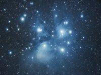 Stelle attraverso il telescopio