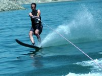 Practice water skiing in Alicante