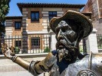 Estatua de El Quijote