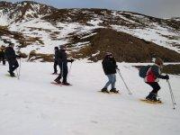 Skiing to enjoy