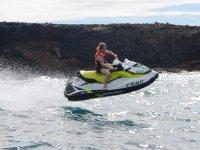 摩托艇冲浪普拉亚上升悬崖美洲