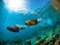 Sotto il mare con i seabob