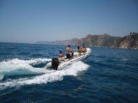 Boat trip in Denia