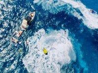 Actividades acuáticas en el mar