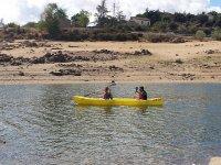 Navegando en la canoa
