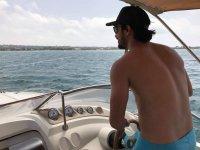 Navegando por la Playa de Illetes