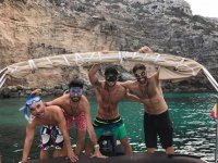 Snorkel desde barco en Formentera