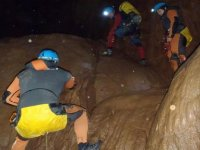 complicated movements in the cave