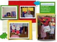 孩子喷漆车间我们的乐趣丰富多彩的piñatas